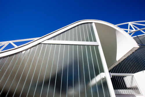 Wave Like Roof Exterior Detail Of The Harry Seidler