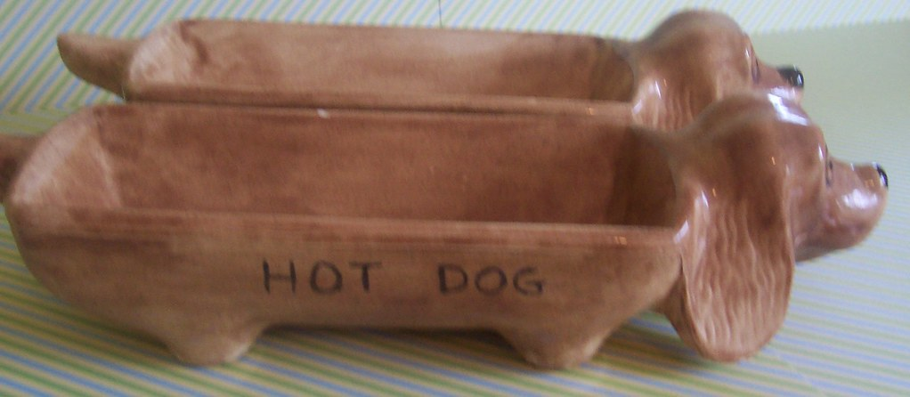 Ceramic Hot Dog Holders You Know When You Have A Hot Dog