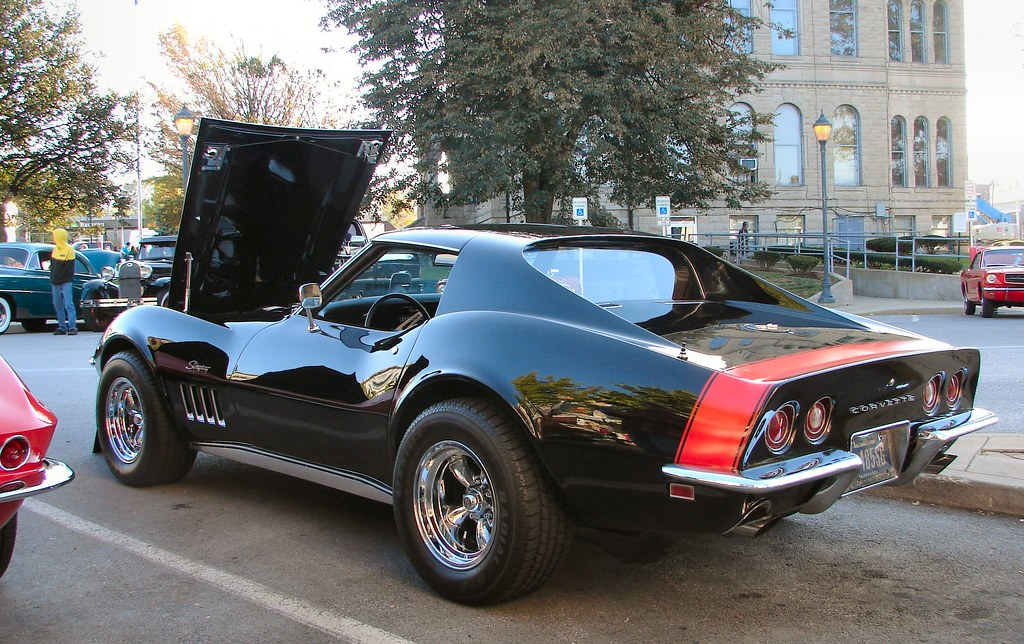 1969 Corvette Stingray The Red Stripe On The Back Is The