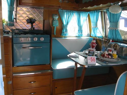 Shasta Travel Trailer Interior Flickr Photo Sharing