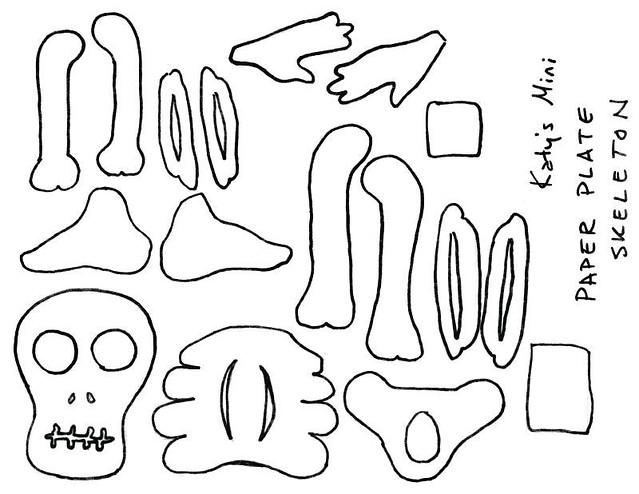 Skeleton | by anthrid Skeleton | by anthrid  sc 1 st  Flickr & Skeleton | My paper plate skeleton design | anthrid | Flickr