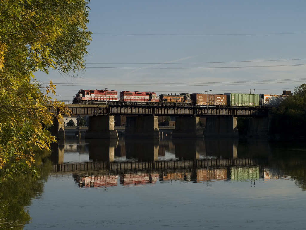 The Rock River Bridge Saturday October 4 2008