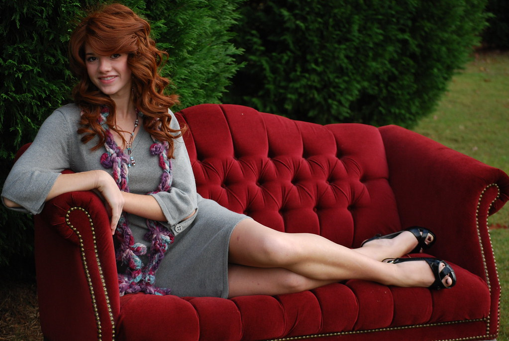 Red Sofa | Stacey Gardner | Flickr