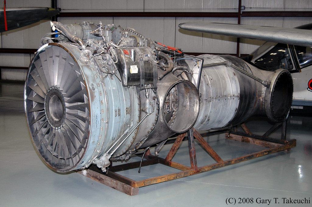 Rolls-Royce Pegasus Mk 103 Engine. This