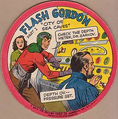 Flash Gordon, City of Sea Caves | by Cardboard Records