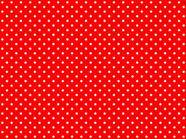 Red White Polka Dot Kitchen Accessories