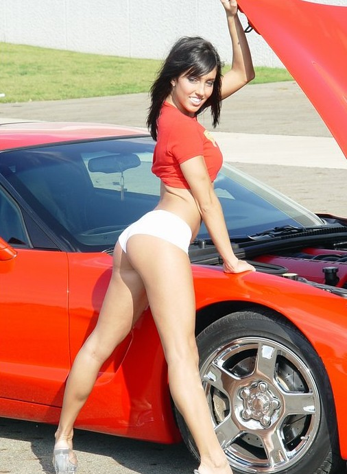 Car Girls Red Racer John Hill Flickr