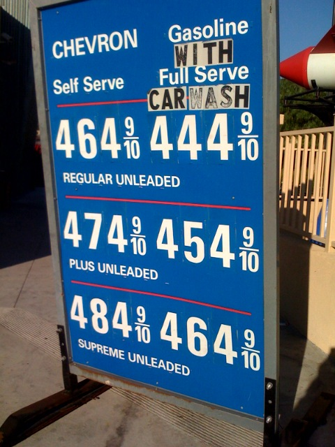 Gas Prices San Diego >> Current Gas Prices In San Diego Ca Whew Looks Like Price Flickr