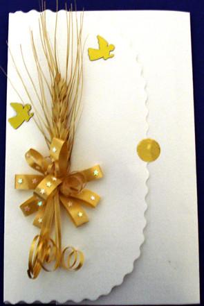 Tarjeta primera comunion 2 volarte empaques y - Como hacer tarjetas para comunion ...
