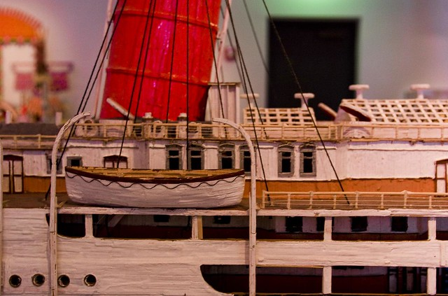 how to make a boat made of toothpicks