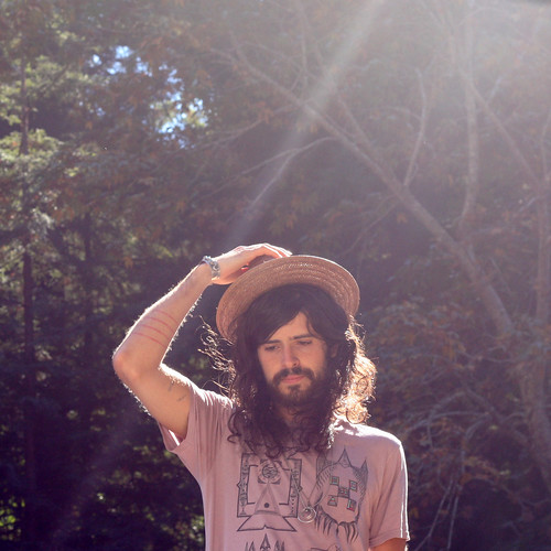 devendra banhart and the light in the woods at the feet of the mountains around big sur, california in september, 2008. | by nobody199999999999