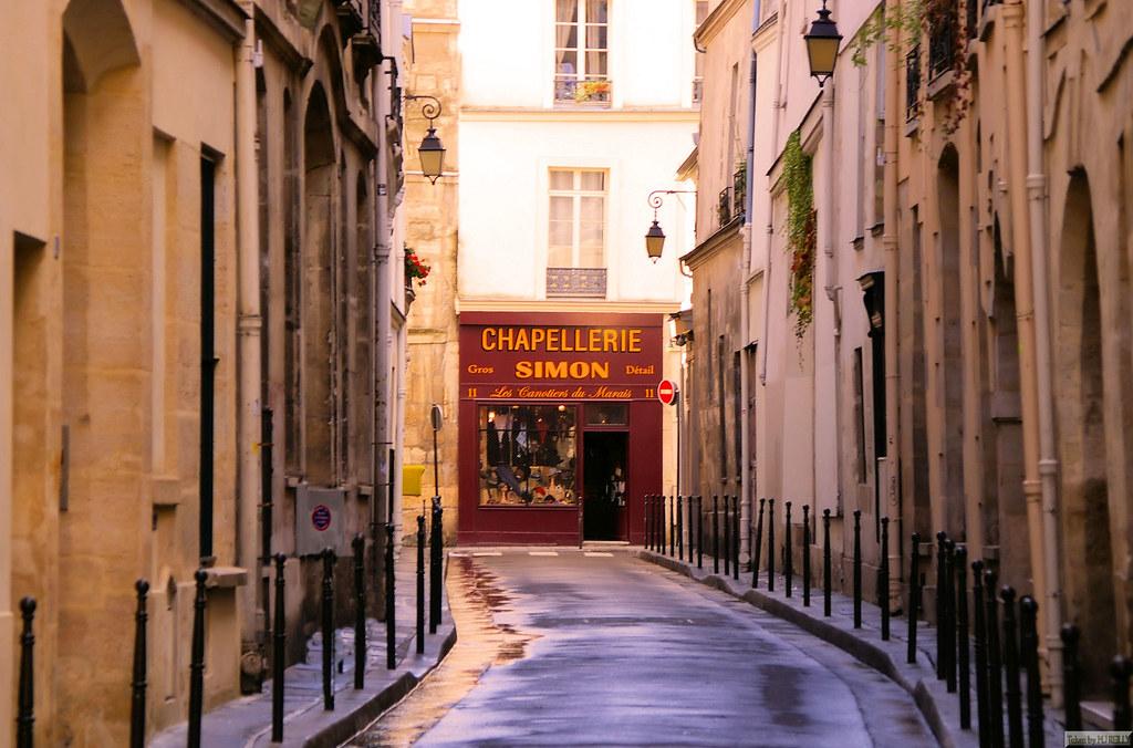simon chapellerie from rue aubriot  le marais  paris