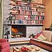 BH&G 1961 - Bookshelf & Fireplace Wall