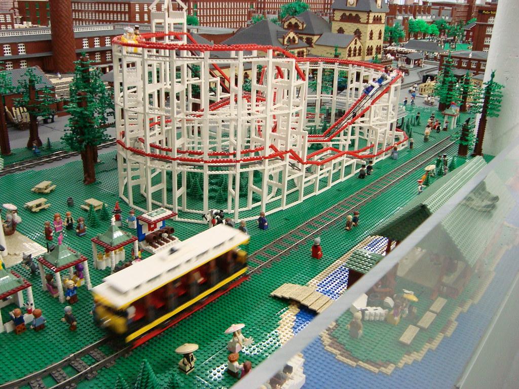 Roller Coaster A Go Go In Old Lego Manchester Enoch