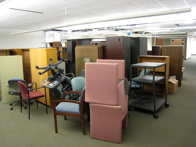 Where Office Furniture Goes To Die Raleigh Nc 10 2 2008 Flickr