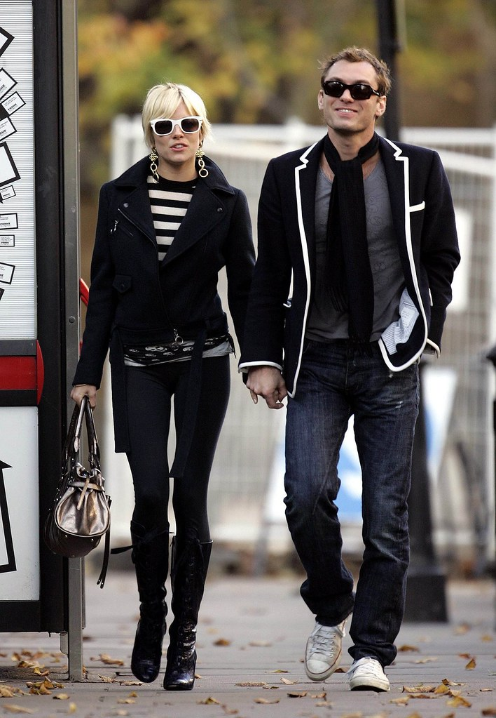 Sienna Miller and Jude... Jude Law