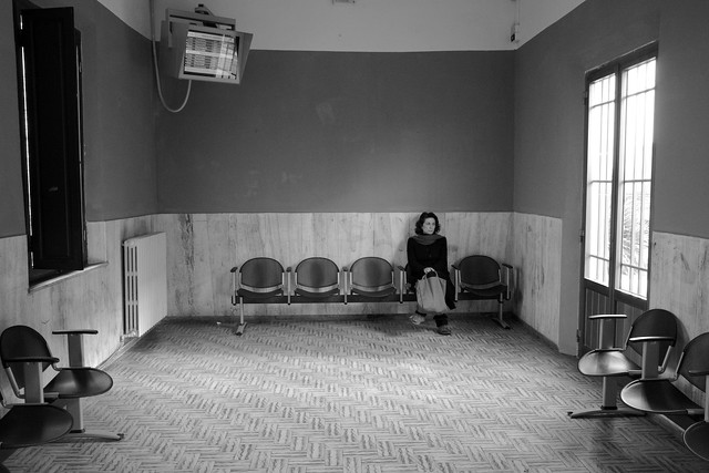 Waiting In The Waiting Room Stock Photography By