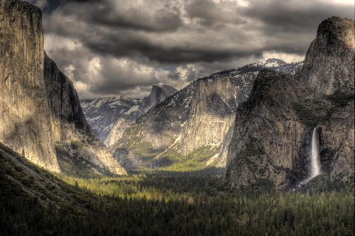 Yosemite valley sm size HDR | by photosbyflick
