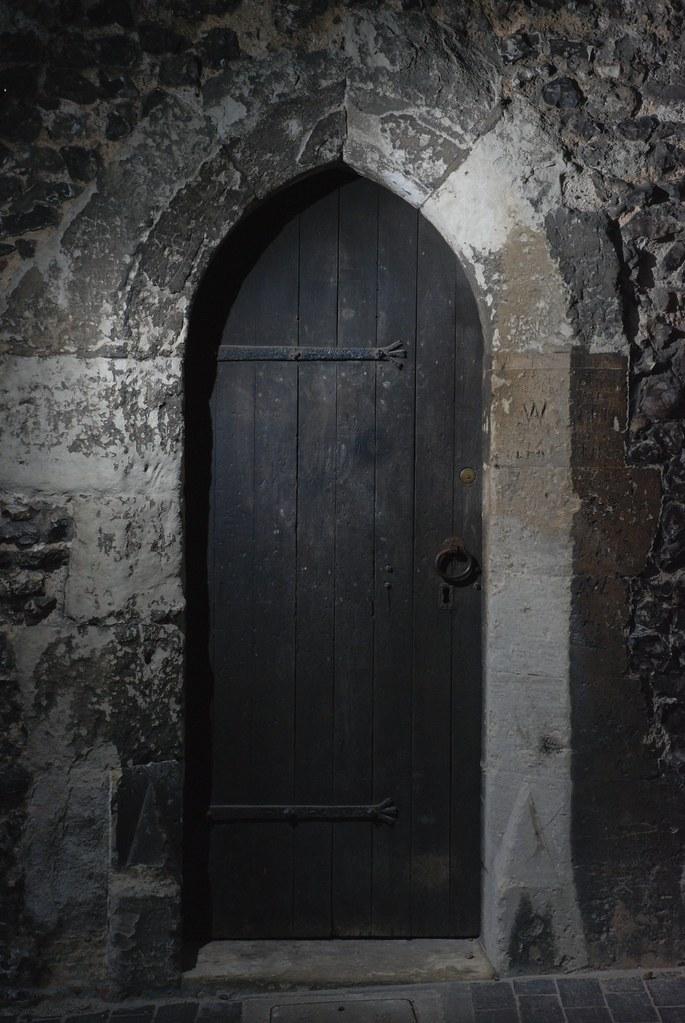 Horror Door My Partner In Crime Held The Flash Up High