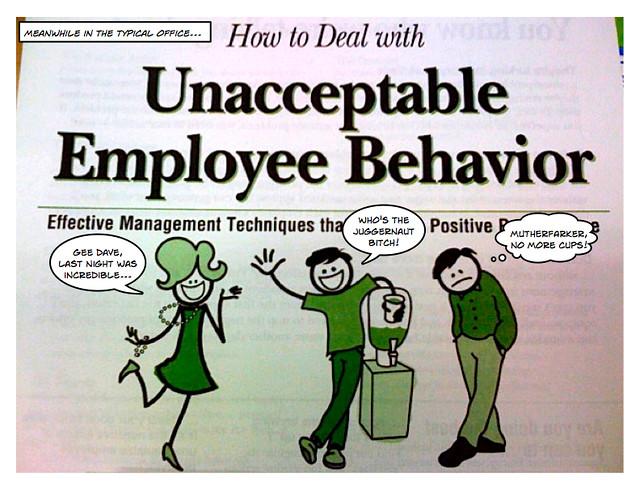 What is unacceptable behavior in online dating