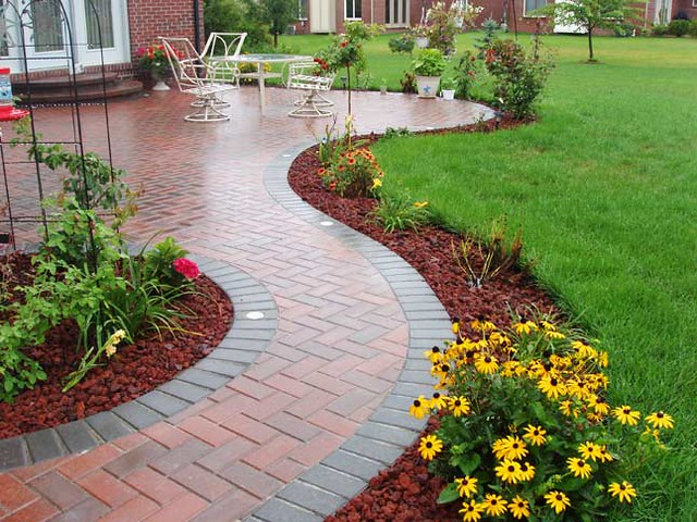Paver Edging Paver Edging Birmingham Michigan Domenico Brick Paving F