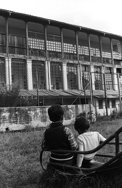 Blind, Orphanage, Quito, 1982 -14 | by Marcelo  Montecino