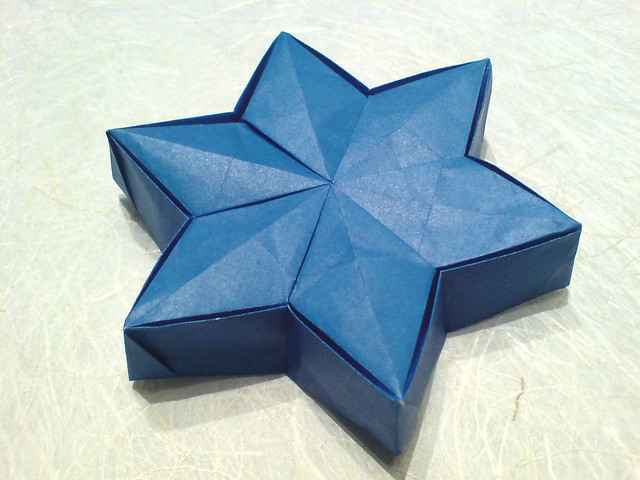 Six Points Star Box I Folded This 25 August 2008 1 To 3 A