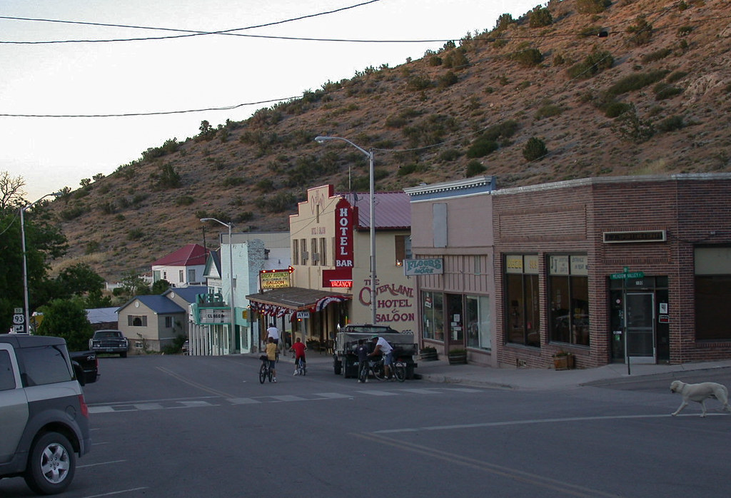 Pioche Nv Overland Hotel 1315a Sunday Evening In