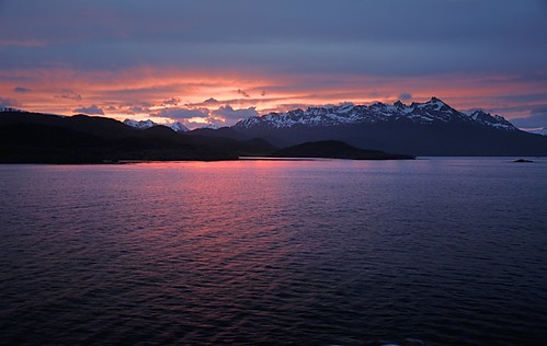 Sunset on the Beagle Channel | by Gerald5