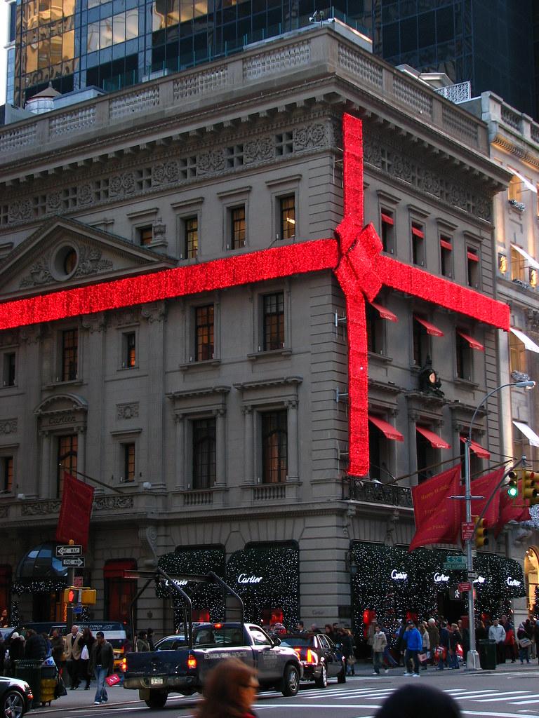 Cartier store Christmas decorations  Fifth Avenue, Manhatta…  Flickr