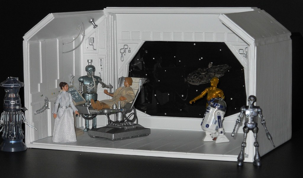 Star Wars Medical Frigate 1 Luke Skywalker S Right Hand