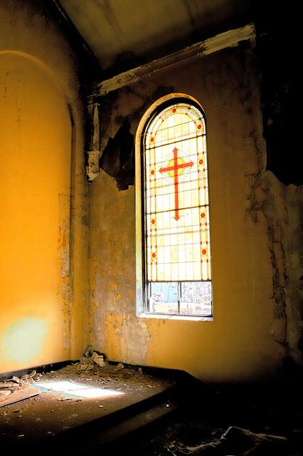 Hdr Window At St Francis Seraph Kansas City Mo This Is