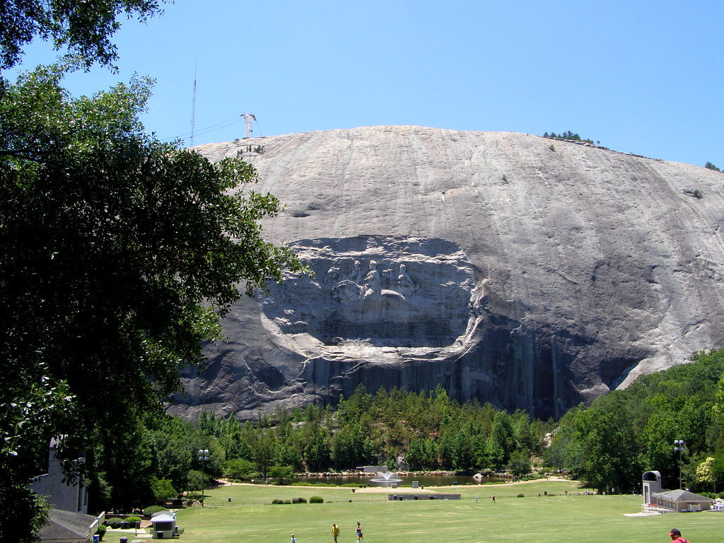 Stone Mountain Ga Elevation : Stone mountain is the granite dome monadnock located in st