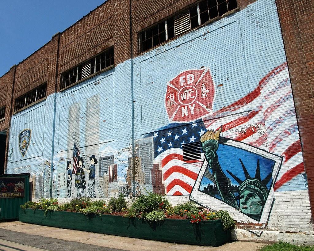 September 11 mural staten island new york city gerardi for 11 terrace ave staten island