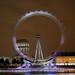London eye long exposure