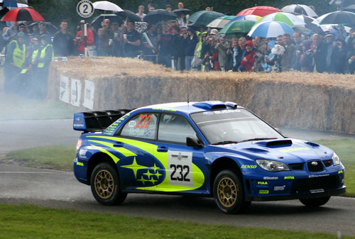 Colin Mcrae In A Subaru Impreza Wrc Flickr Photo Sharing