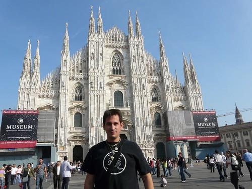Sele en la catedral de Milán