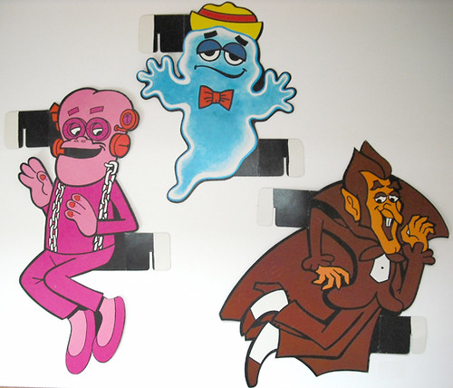 Count Chocula BooBerry Frankenberry Monster Mansion C