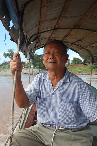 Ferry Driver from Thailand to Laos | by Sean Paul Kelley