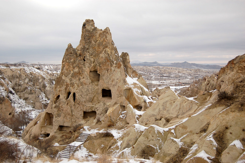 Göreme Open Air Museum-Monastery  The region of ...