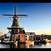 The Adriaan Windmill of Haarlem...