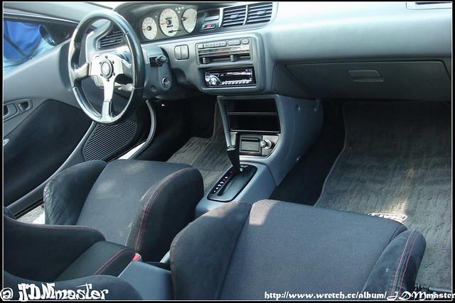 jdm honda  hatchback interior wayne yeh flickr