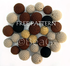 Pattern for Crocheted Beads (Patroon voor Gehaakte Kralen) | by Made by BeaG