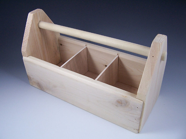 Wooden Toolbox ...