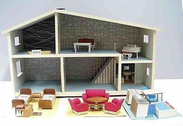 1965 lundby puppenhaus lundby puppenhaus mit elektrischer flickr. Black Bedroom Furniture Sets. Home Design Ideas