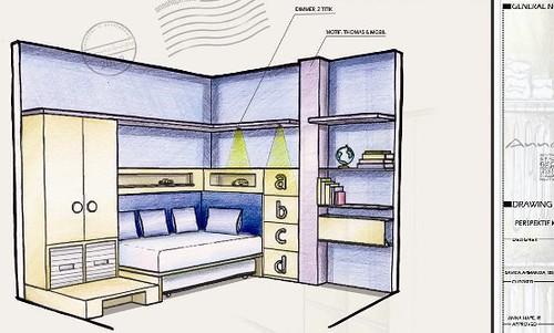 Bedroom Interior White