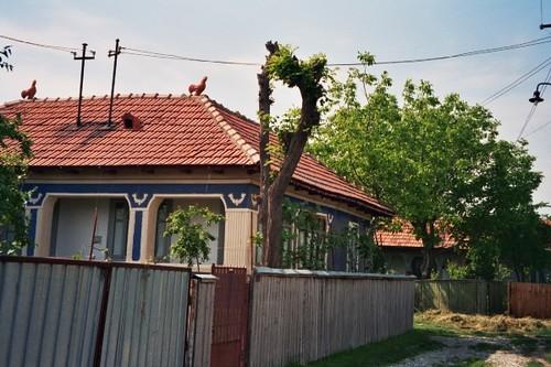 Peasant house in ciorani prahova romania vlahia flickr - Romanian peasant houses ...