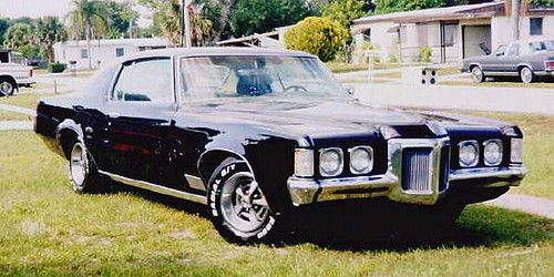 70 Pontiac Grand Prix Black Car 70 Gp Only Nominally