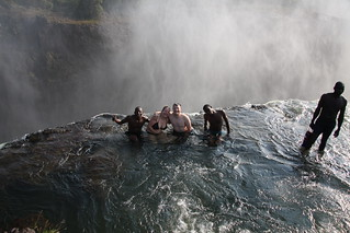 Devils Pool - the top of Vic Falls | by SarahDepper