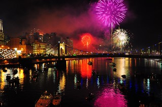 Explosions of Purple, Red, and White - (Pittsburgh 250 Celebration - 10/4/08) | by charness